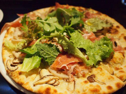 イル・ソーニョのピザ