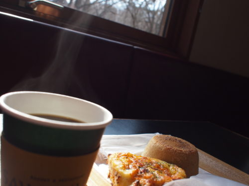 沢村で朝食