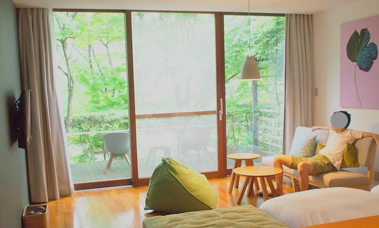 リゾナーレ那須の本館客室
